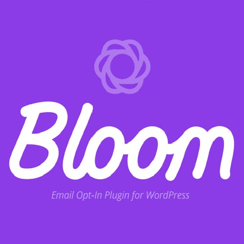 Bloom opt-in form builder for collecting leads