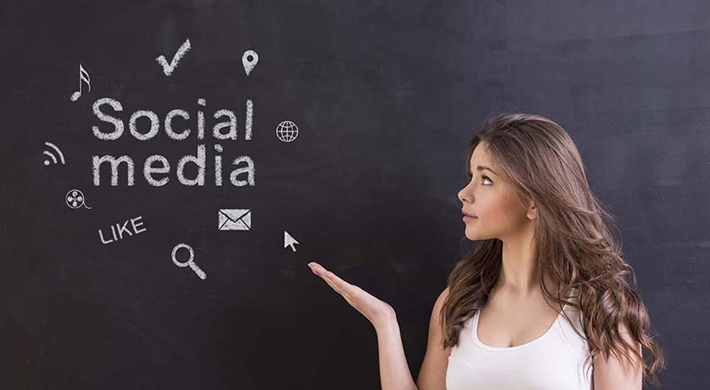 Social Media Marketing to show presence on the Internet